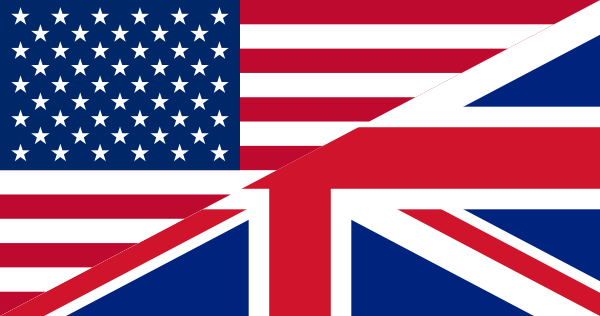 Flag UK / USA