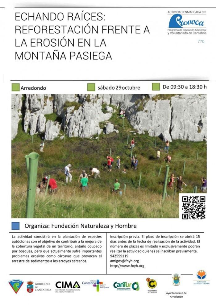 Cartel del PROVOCA en la Montaña Pasiega.