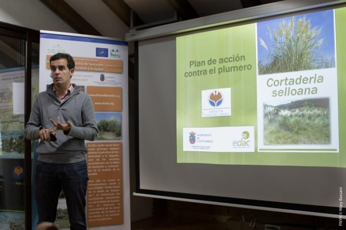 Jacobo Fernández Rojo, durante su charla.