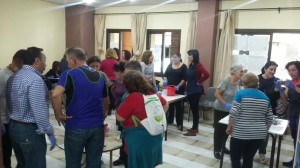 Colaboración y compañerismo en las actividades de FNYH.