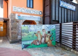 Exterior del eco-museo Fluviarium de Liérganes.