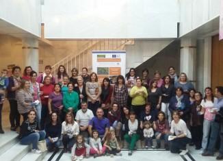 Foto de grupo del taller de Pinofranqueado,