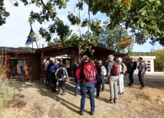 El grupo holandés It Fryske Gea, en la estación biológica de Campanarios de Azaba.