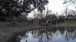 Los Amigos de Ciudad Rodrigo paseando por Campanarios