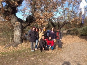 El grupo del País Vasco que visitó la Reserva