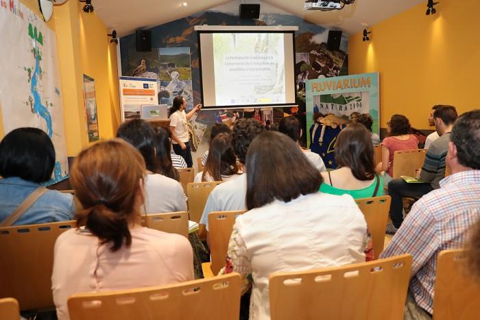 Presentación sobre Custodia del Territorio de Alberto Navarro Gómez, Foro Estatal de Custodia del Territorio