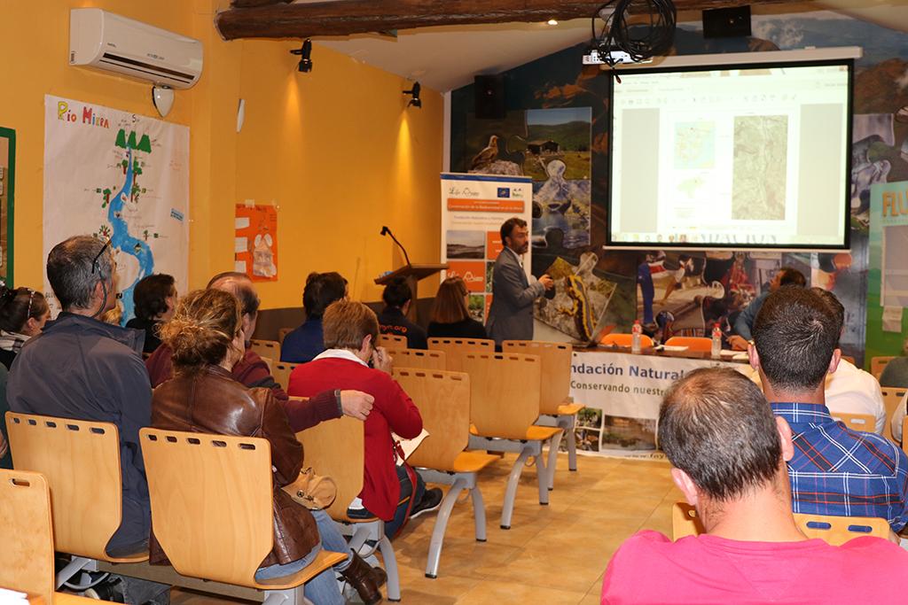 La charla se celebró en el Ecomuseo Fluviarium de Liérganes.