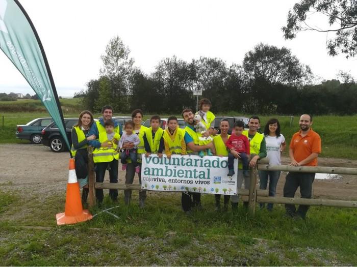 Jornada Voluntariado Medioambiental Cajaviva, Ríos Vivos con Fundación Oxígeno