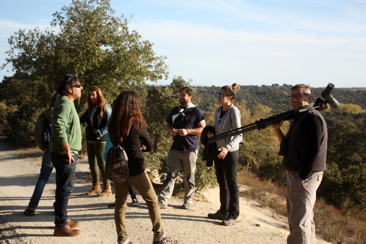 El otoño permitió disfrutar de los paseos de campo en la reserva biológica