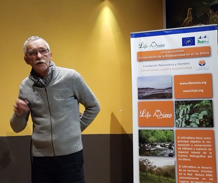 Doctor en geología y biólogo Enrique Francés Arriola