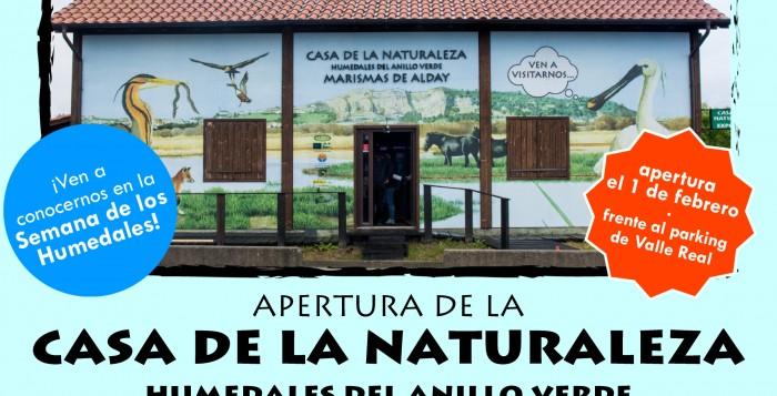 Apertura de la Casa de los Humedales del Anillo Verde