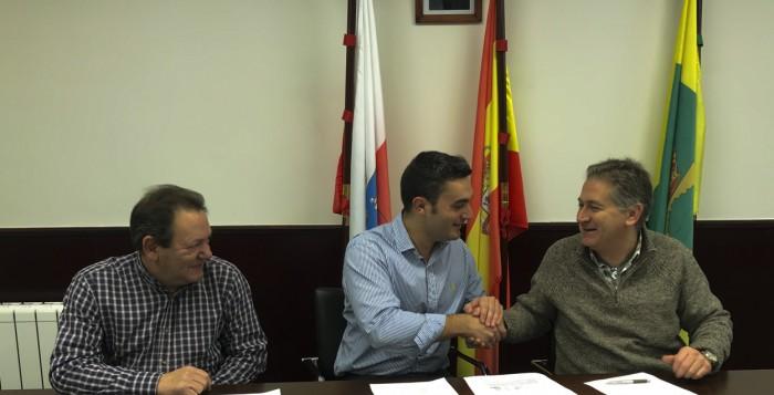 Firma del Acuerdo de Custodia del Territorio con Ribamontán al Monte