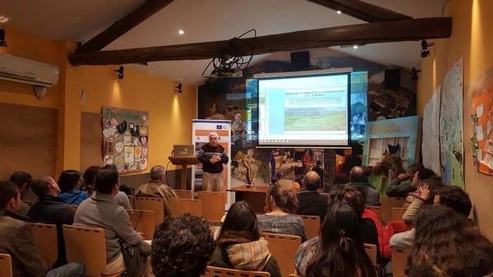 Los Viernes del Fluviarium, Charla Ganaderia para gestion silvopastoral del común por Juan Busqué
