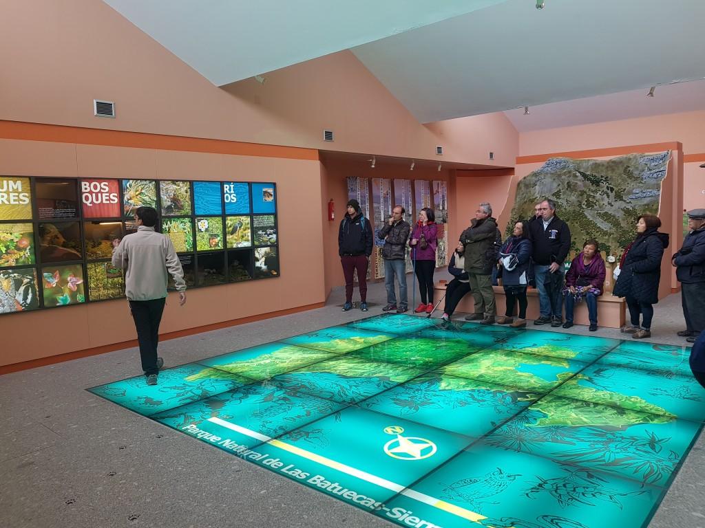 Presentación en el aula de interpretación del Parque Natural de Las Batuecas - Sierra de Francia