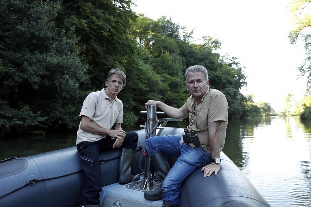 Santiago Urquijo y Carlos Sánchez