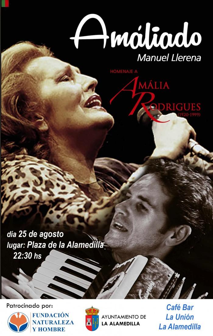 Amáliado: Manuel LLerena homenajea a Amália Rodrigues