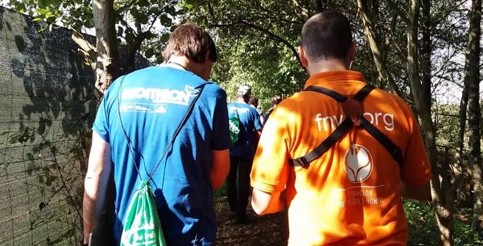 Decathlon con FNYH y el Anillo Verde