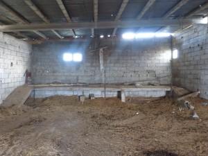 El edificio antes de ser recuperado.