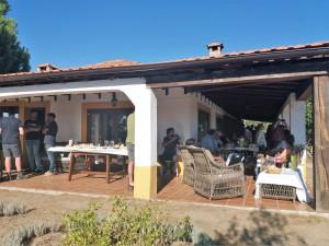 Alojamiento rural en Campanarios de Azaba.