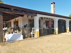 Alojamiento rural en la Reserva Biológica Campanarios de Azaba.