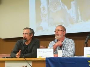 Gerardo Moreno y Juan José Pérez.