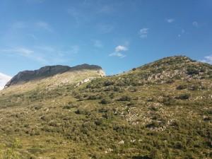 Peña del Moro desde el Valle del Silencio.