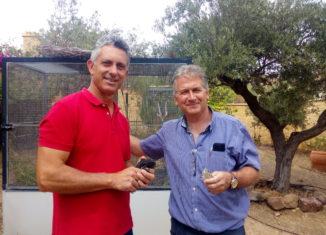 Juan Antonio López (CeUICN) y Carlos Sánchez (FNYH)