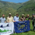 Visita de la Comisión. Proyecto Life+ Miera