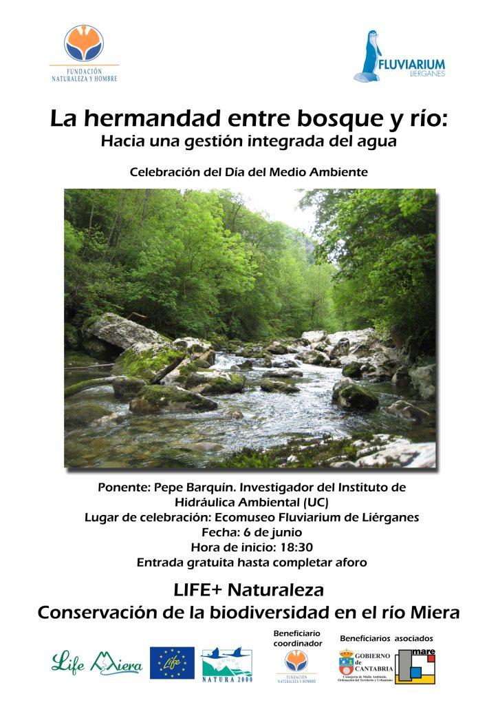 Charla sobre el bosque y el río, el sábado 6 de junio en el Fluviarium de Liérganes
