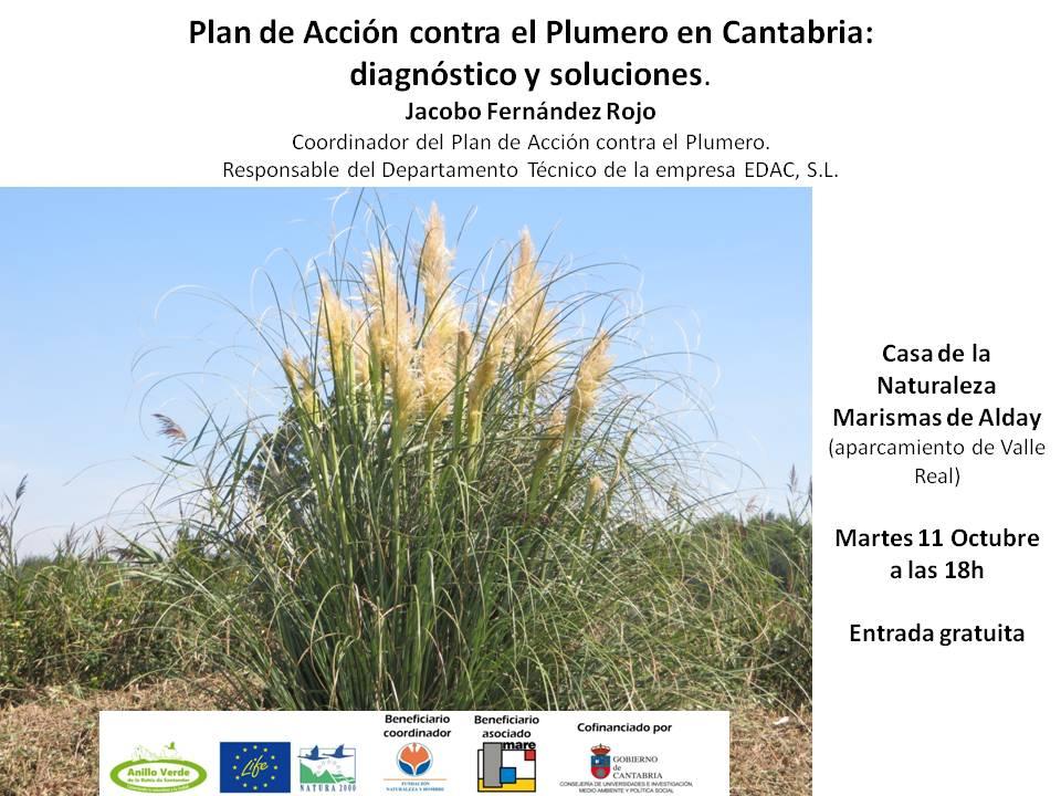 Próxima charla del LIFE Anillo Verde de la Bahía de Santander.