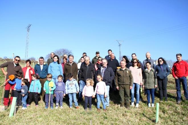 Participantes del Día del Árbol 2017, Campoo de Yuso