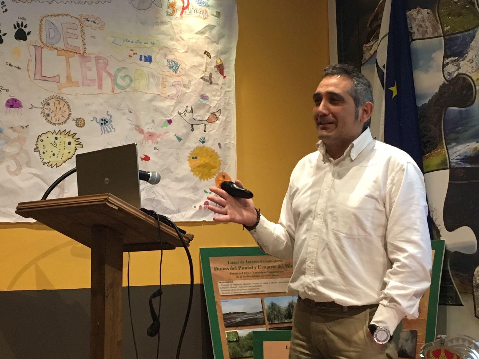 Francisco Javier Espinosa, jefe del Servicio de Montes de la Dirección General del Medio Natural del Gobierno de Cantabria