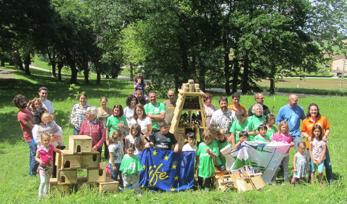 El Robledal de Pontones acogió a voluntarios por el 25 aniversario de la Red Natura 2000 / LIFE.