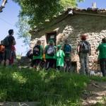 Cabaña pasiega restaurada en el Alto Miera. Excursión II Semana LIFE Miera.