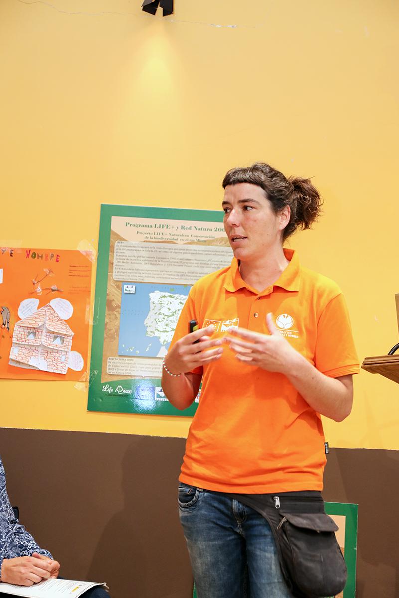 Laura Dorado, coordinadora de Educación Ambiental en Fundación Naturaleza y Hombre
