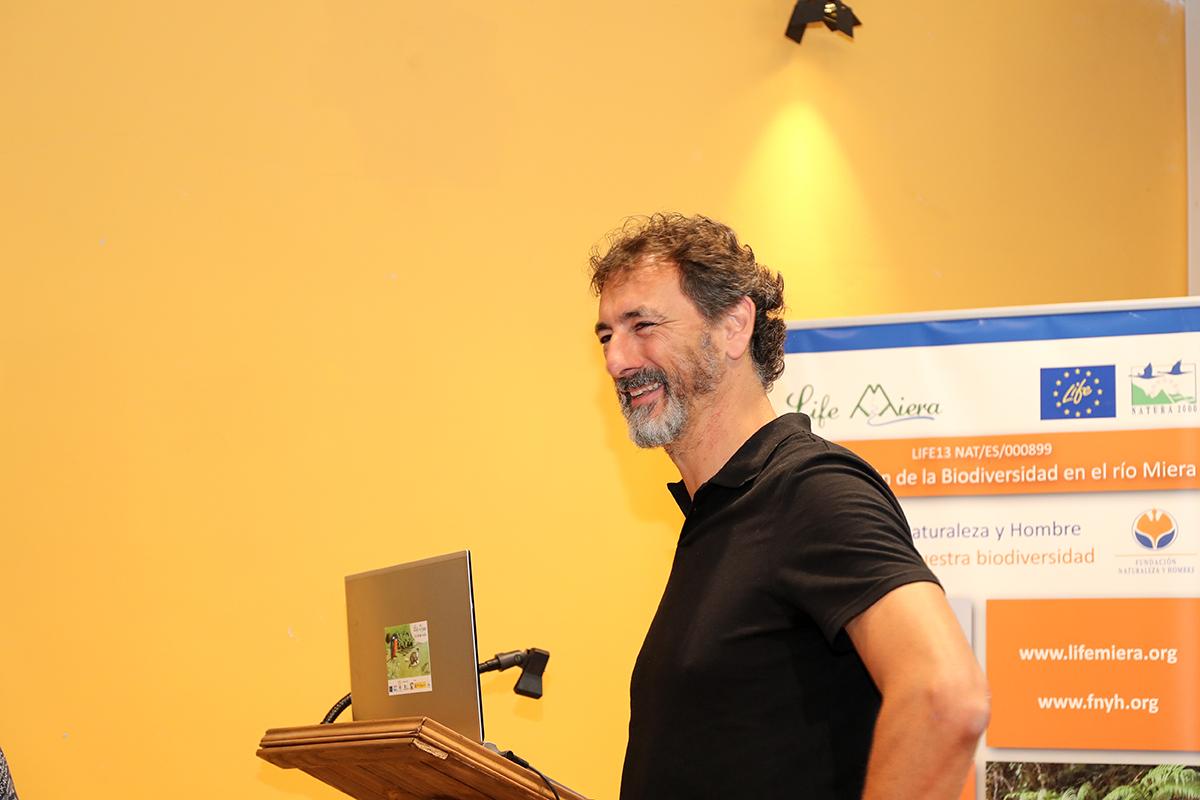 Mariano Cebolla Borrell coordinador de comunicación del proyecto LIFE Migratoebre