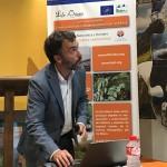 Asier Saiz, redactor del proyecto, en un momento de su intervención.