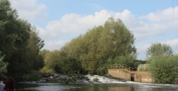 Visita al azud Powick sobre Río Severn (Inglaterra), donde se está desarrollando el proyecto LIFE Unlocking the River Severn
