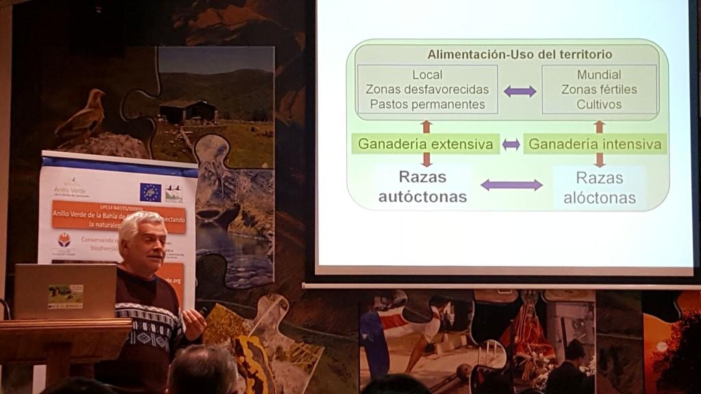 Ganadería autóctona Charla en los Viernes del Fluviarium durante presentación de Juan Busque, investigador del CIFA