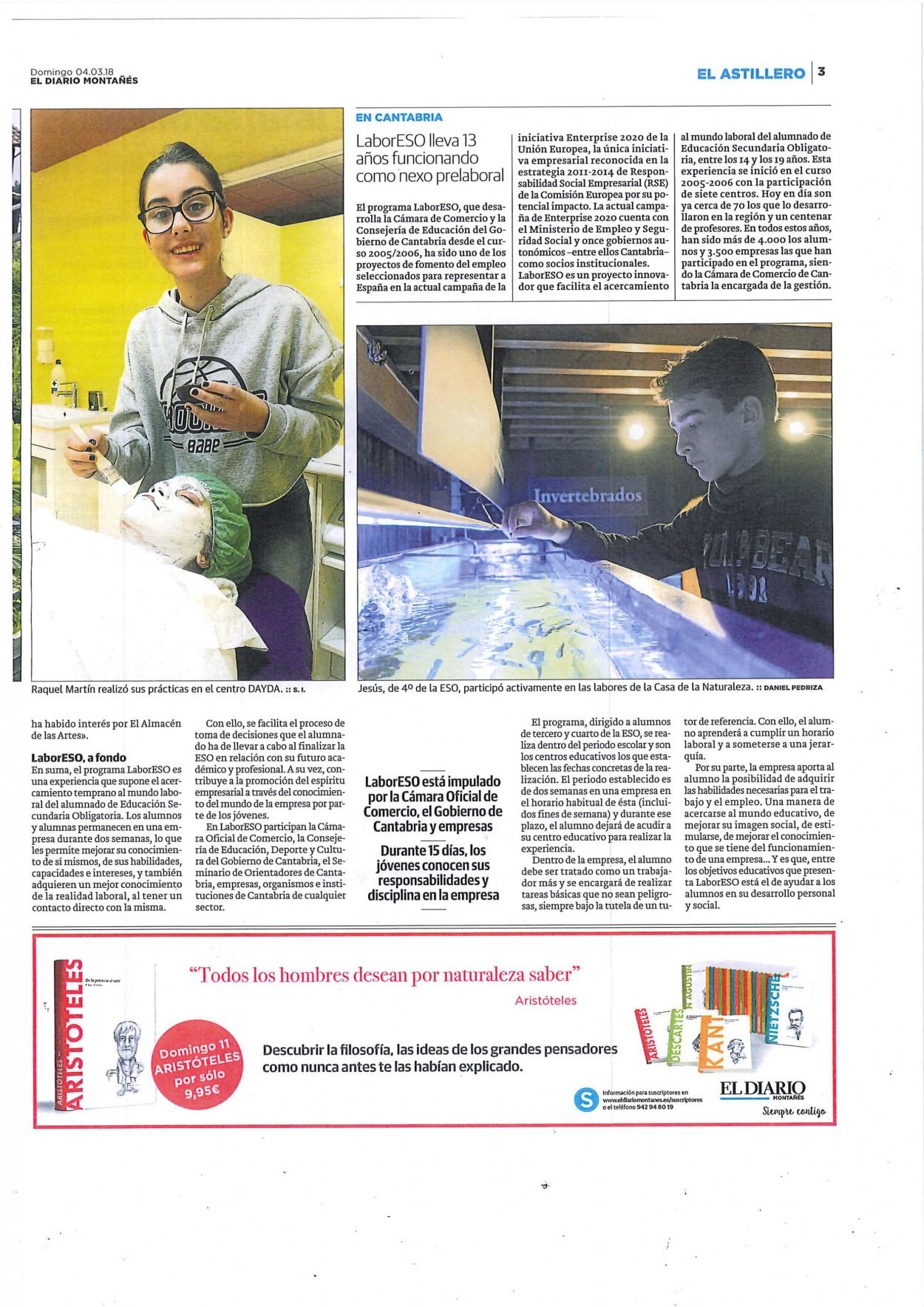 El artículo del Diario Montañes_ pag. 1
