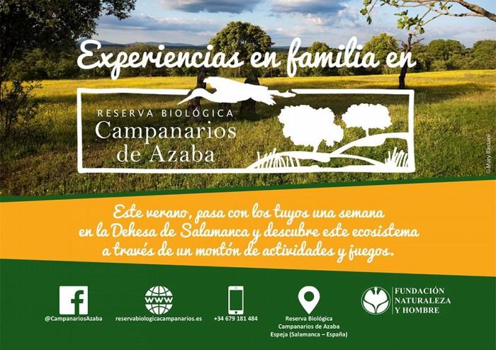 Experiencias en Familia en Campanarios de Azaba