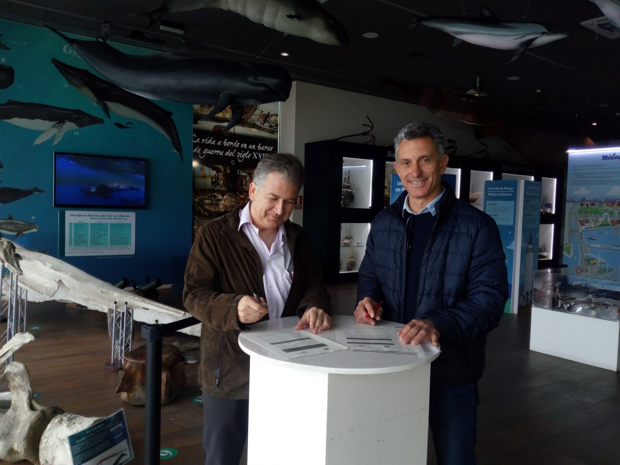 El presidente de FNYH firma convenio de colaboración con el presidente de Comisión Española de la UICN