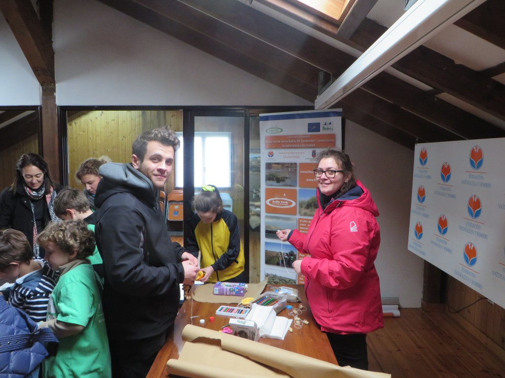 Carmela y Ricardo, los voluntarios de Cantabria