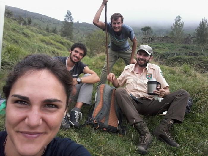 Voluntarios ERASMUS+ con FNYH
