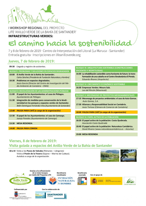 Workshop Infraestructuras Verdes Santander Febrero 2019