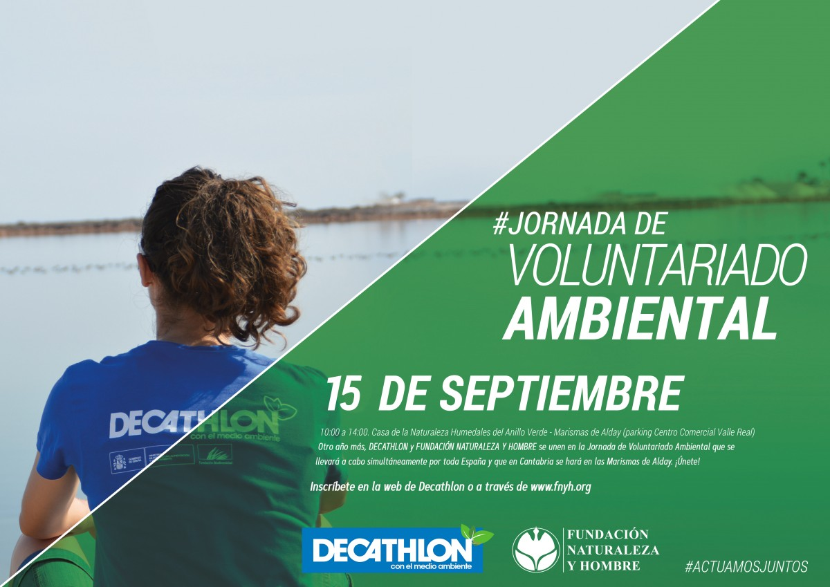 Jornada Voluntariado DECATHLON y FNYH